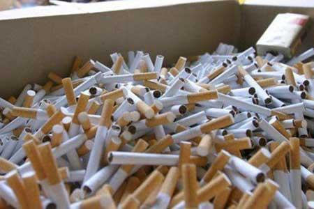 کشف محموله 100 میلیون تومانی سیگار قاچاق از اتوبوس مسافربری