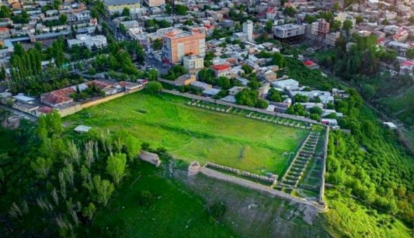 شروع بازسازی جامع کهنه قلعه مشگین شهر پس از نیم قرن