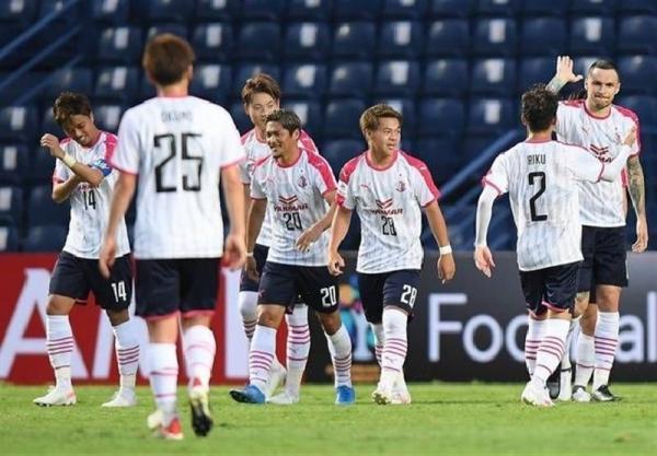لیگ قهرمانان آسیا، توقف اوزاکای ژاپن مقابل حریف تایلندی