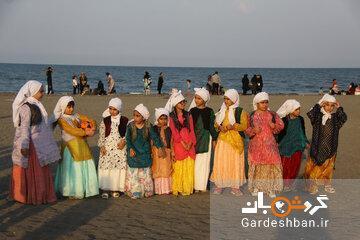 جشنواره بازی های محلی و مجسمه های شنی در آستارا برگزار گردید