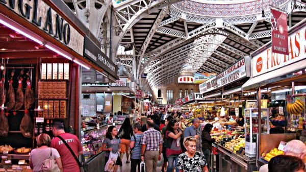 برترین بازار های میوه و سبزی در والنسیا اسپانیا