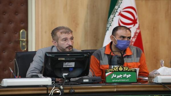 حضور و سخنرانی پاکبان کرجی در صحن شورای شهر