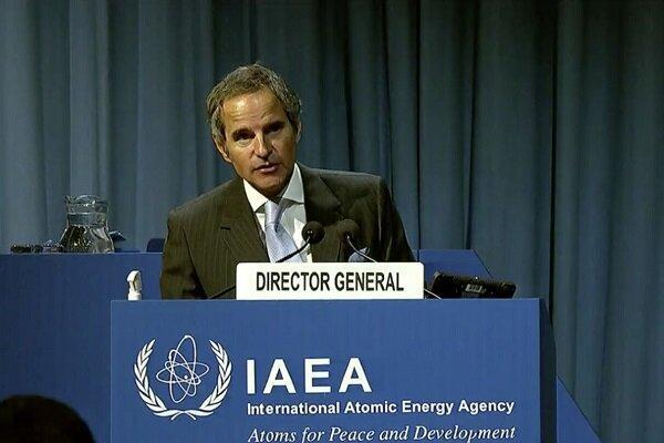 گروسی در مورد حل مسائل برنامه هسته ای ایران ابراز امیدواری کرد