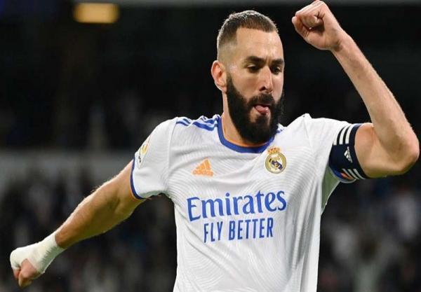 رکوردی تازه برای بنزما و رئال مادرید در شب پیروزی مقابل مایورکا